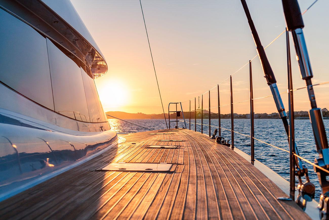 Segelyacht-Sundown
